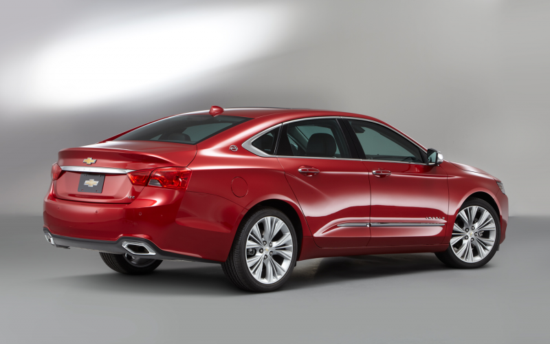 2014 Chevrolet Impala Rear Three Quarters