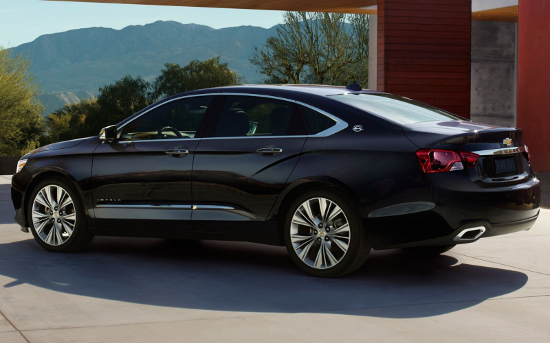 2014 Chevrolet Impala Rear Three Quarter