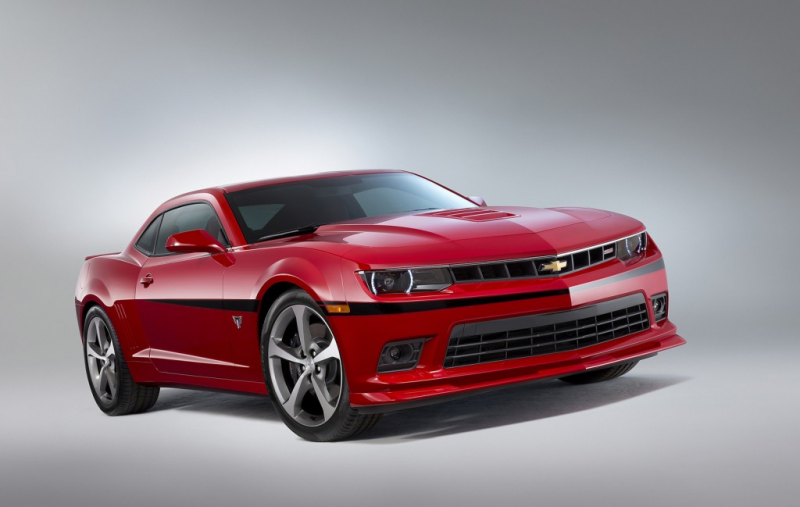 2015 Chevrolet Camaro Commemorative Edition Rolls Into SEMA