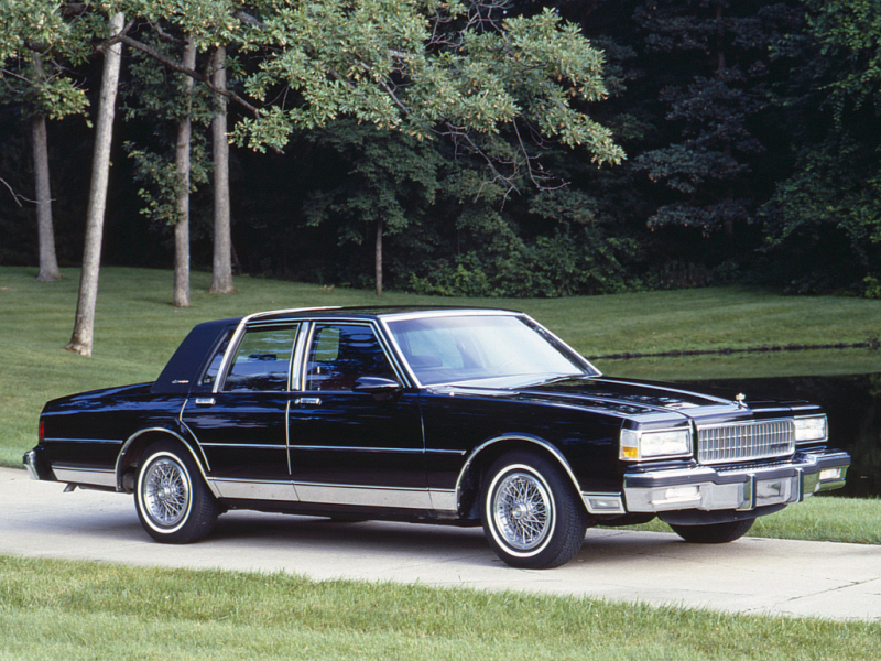 Chevrolet Caprice Classic Brougham LS 1987 – 1990 Wallpapers