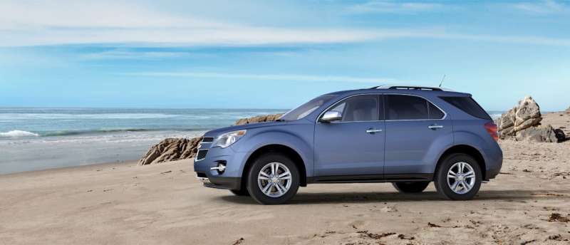 The 2013 Chevy Equinox receives high marks for its comfortable ...