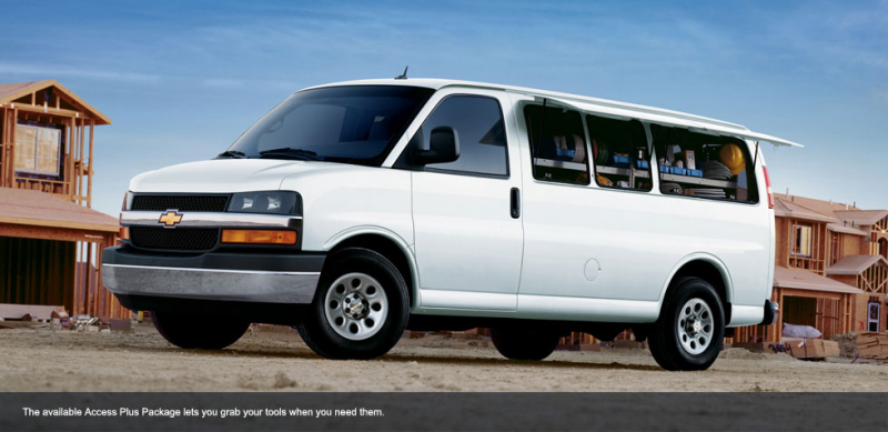 Chevrolet Express 3500 photos: