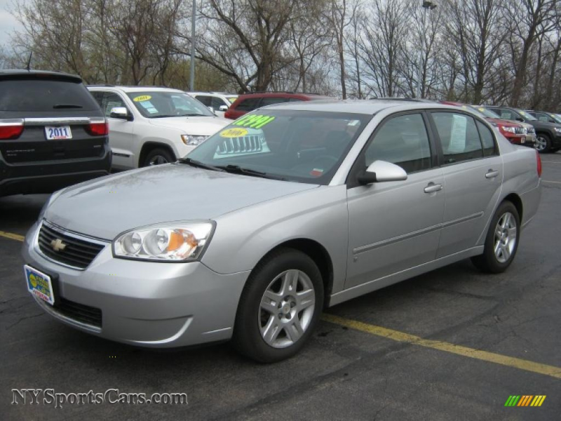2006 Malibu LT V6 Sedan - Silverstone Metallic / Titanium Gray photo ...