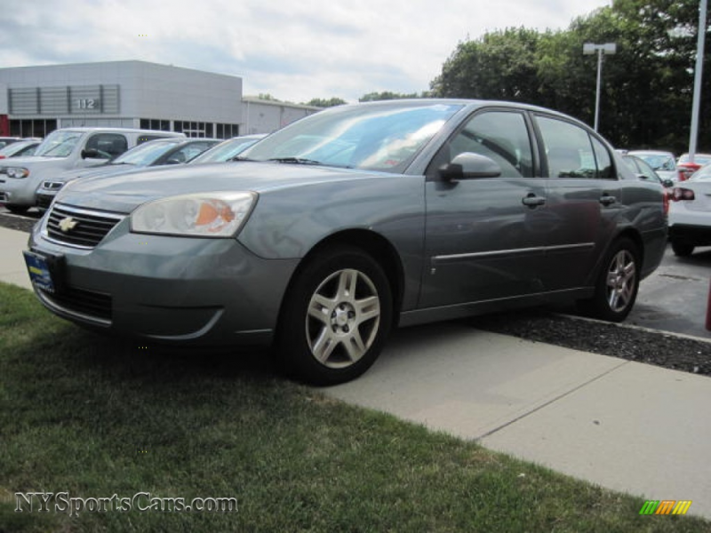 2006 Malibu LT V6 Sedan - Medium Gray Metallic / Ebony Black photo #1