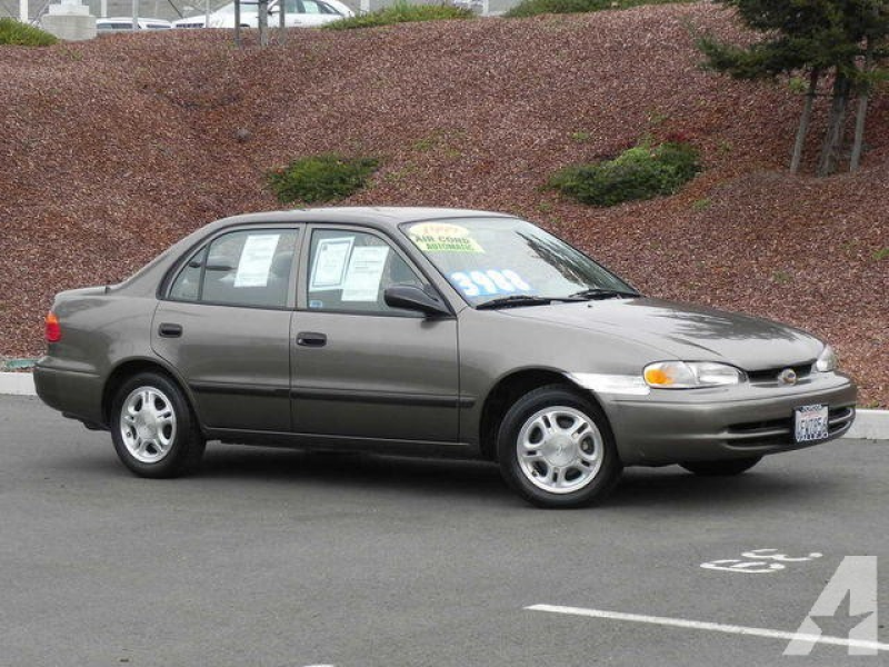 1999 Chevrolet Prizm for sale in Vallejo, California