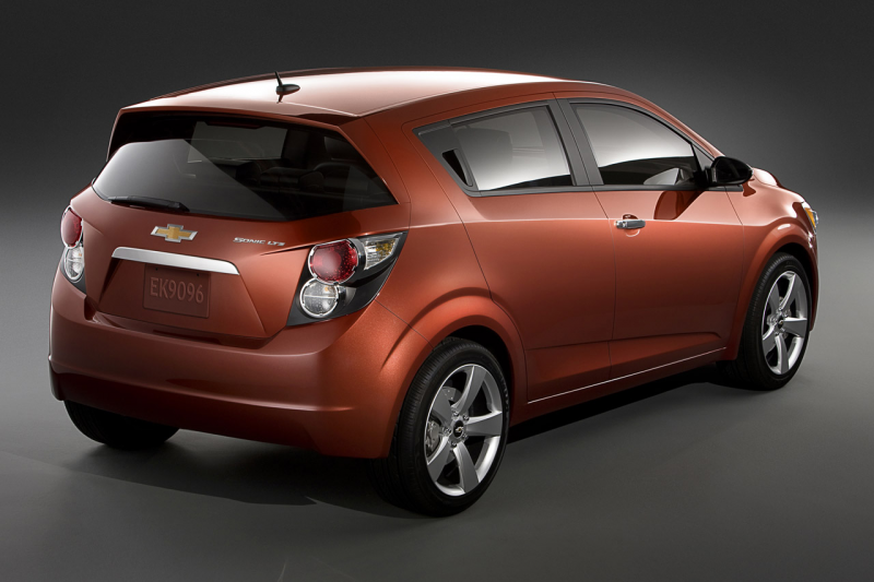 Next Chevy Aveo to be Renamed Chevy Sonic