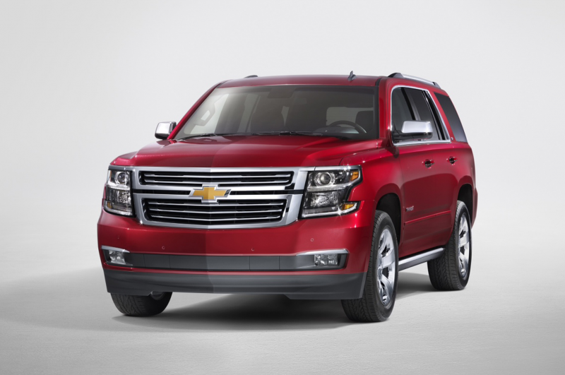 2015 Chevrolet Tahoe Front Three Quarters