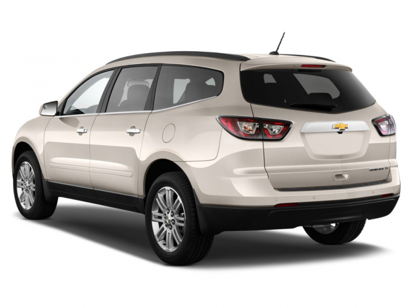 2015 Chevrolet Traverse FWD 4-door LT w/1LT Angular Rear Exterior View