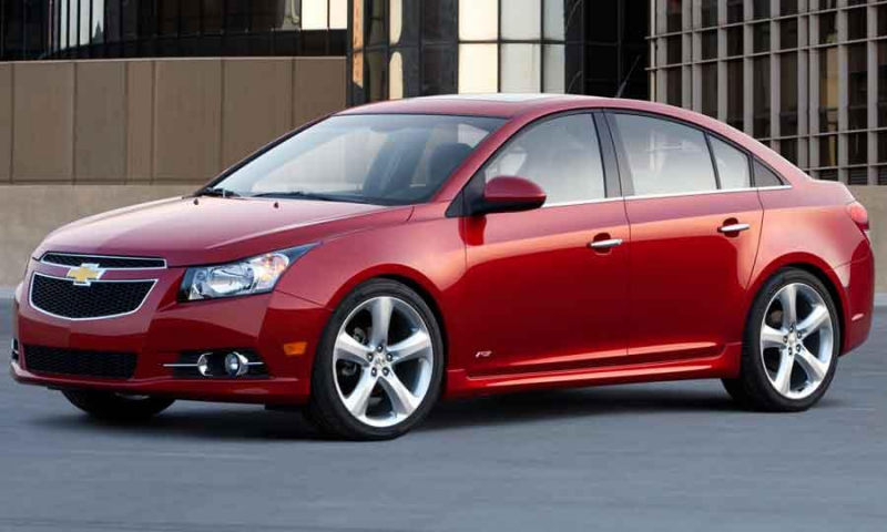 Chevrolet CRUZE for Comfortable Luxurious Car