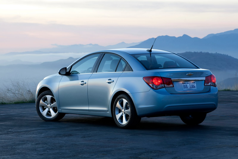 GM Recall Chevrolet Cruze Models for 2011