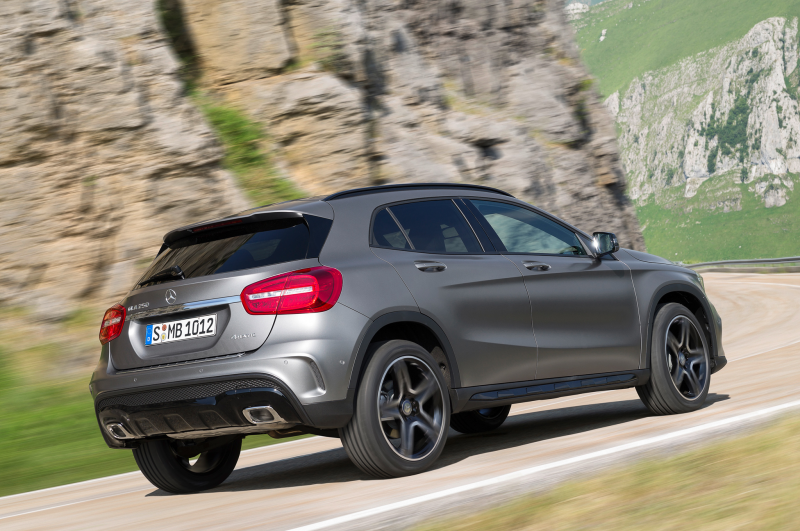 2015 Mercedes Benz Gla Class Right Rear 1