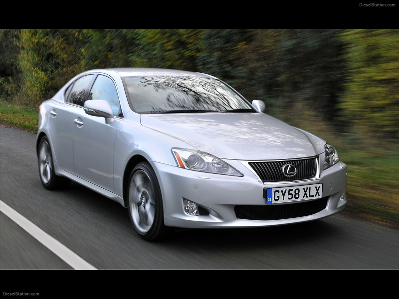 2009 Lexus IS 250/220d Range