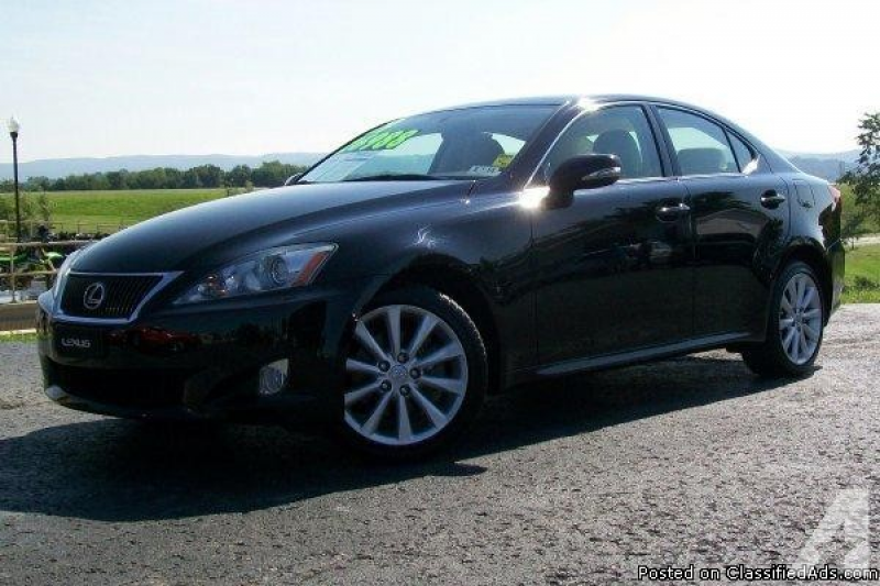 2009 Lexus IS 250 for sale in Connellsville, Pennsylvania