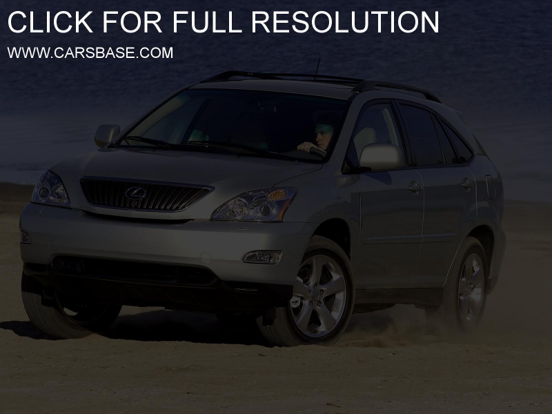 Photo of Lexus RX 330 #3000. Image size: 1600 x 1200. Upload date ...