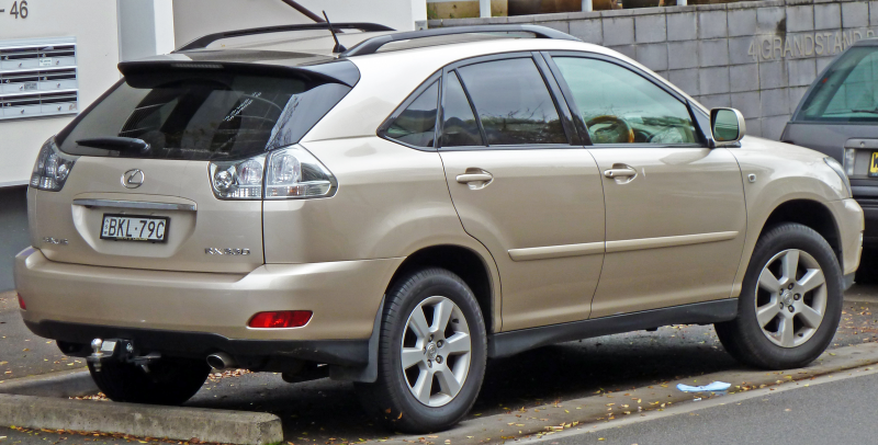 Description 2004 Lexus RX 330 (MCU38R) Sports Luxury wagon (2010-07-13 ...
