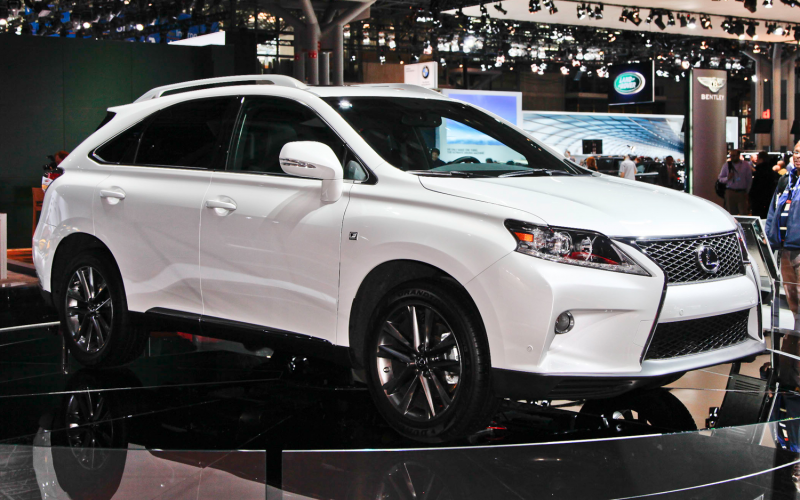 2013 Lexus RX 350 F-Sport Photo Gallery