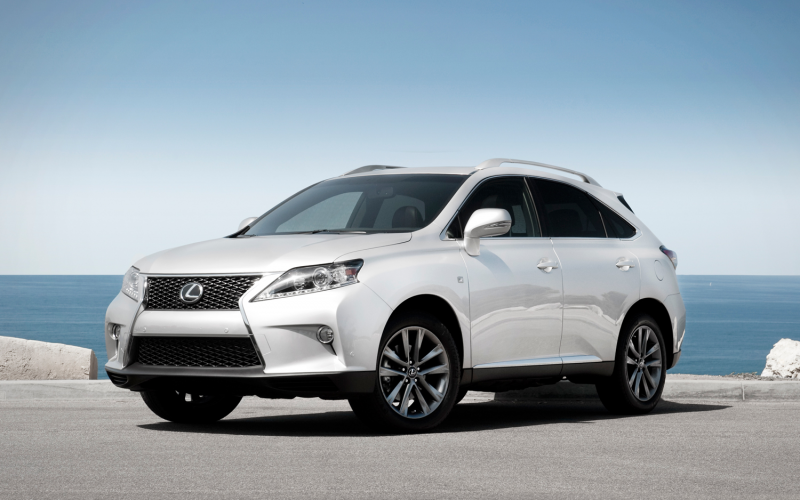 2013 Lexus Rx 350 F Sport Front Left Side View