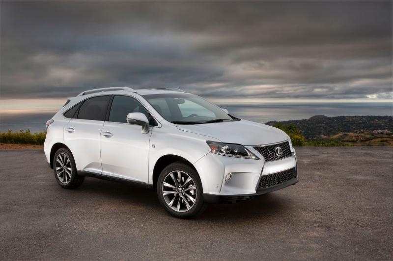 2013 Lexus RX 350 F Sport Official Photo Gallery