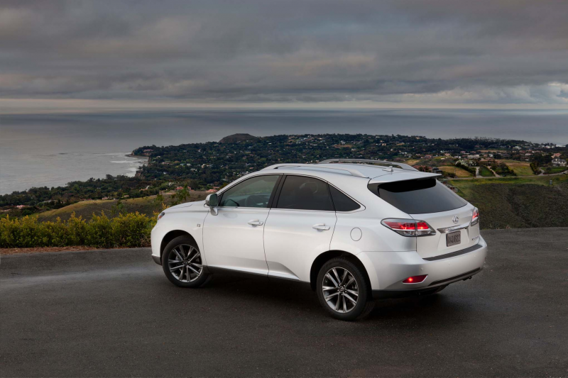 2015 Lexus Rx 350 F Sport Rear Three Quarter 04