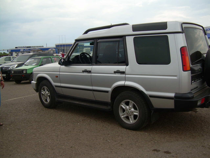 2004 LAND Rover Discovery Pictures