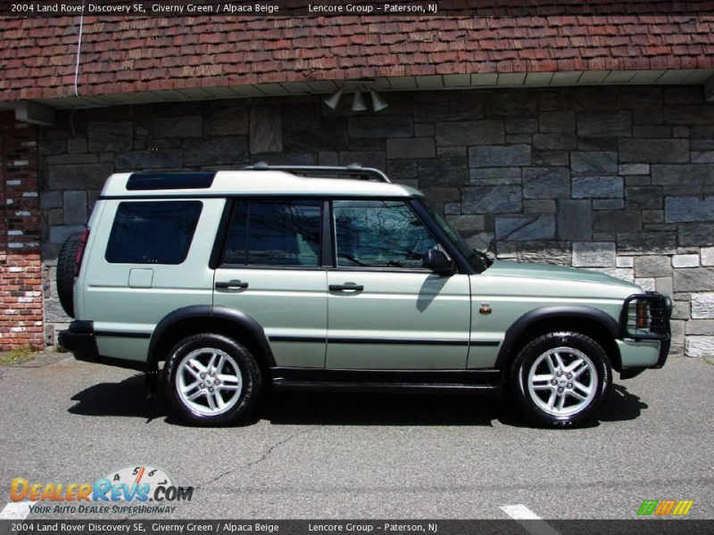 2004 Land Rover Discovery SE Giverny Green / Alpaca Beige Photo #6