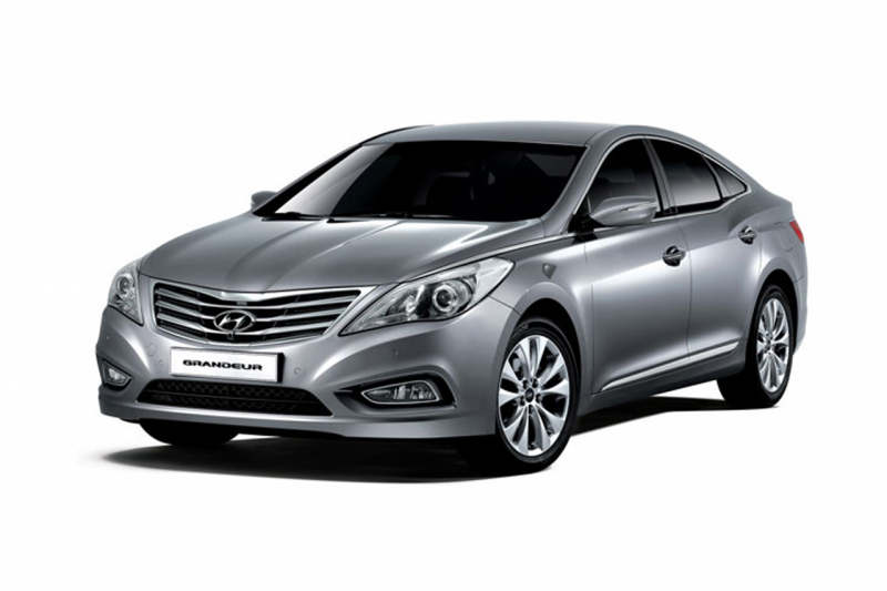 Specifications prices Modifications and Image Hyundai Azera 2011