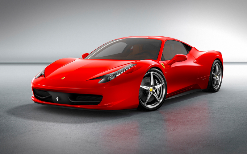 2010 Ferrari 458 Italia Wallpaper
