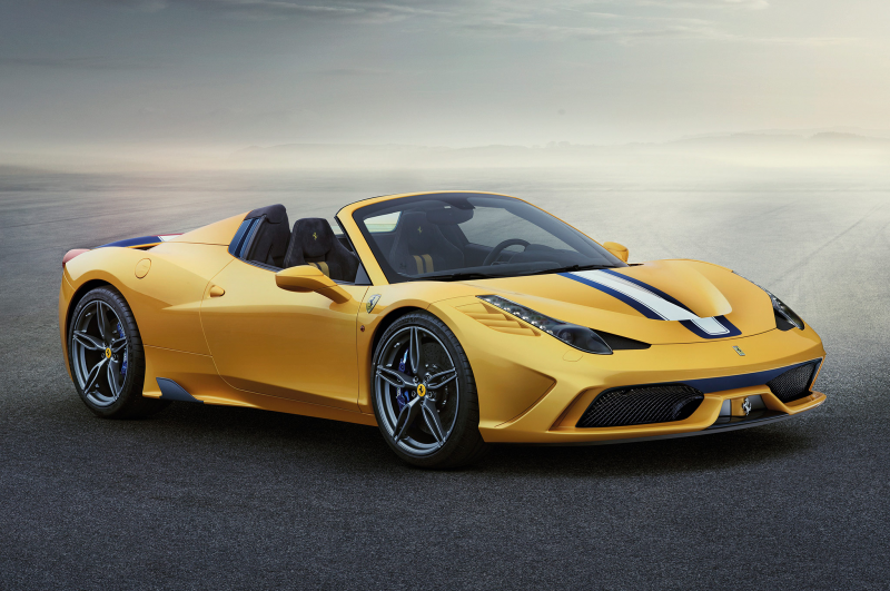 2015 Ferrari 458 Speciale A Headed for Paris Auto Show Photo Gallery