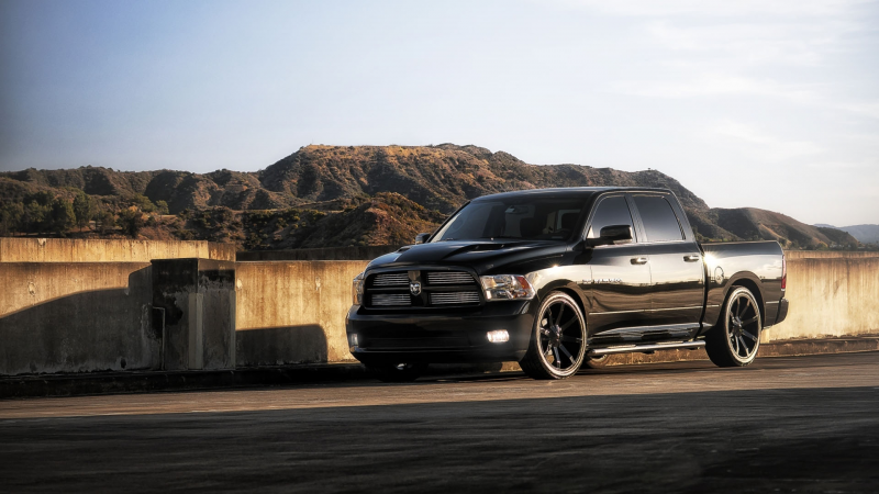 ... the day – 2011 Dodge Ram 1500 5.7-liter Hemi V8 390 hp 1920×1080 HD