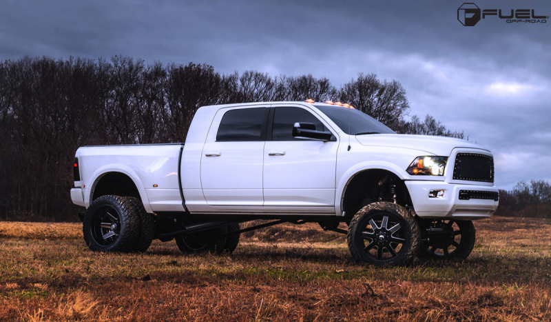 Beef up with the Ram 3500 Dually and Fuel Wheels!