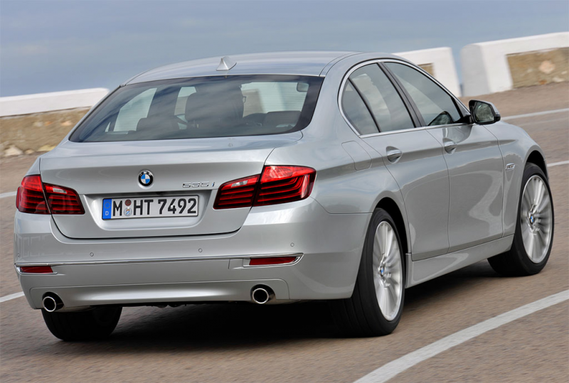 2014 BMW 5 Series Facelift Photos - Image 2