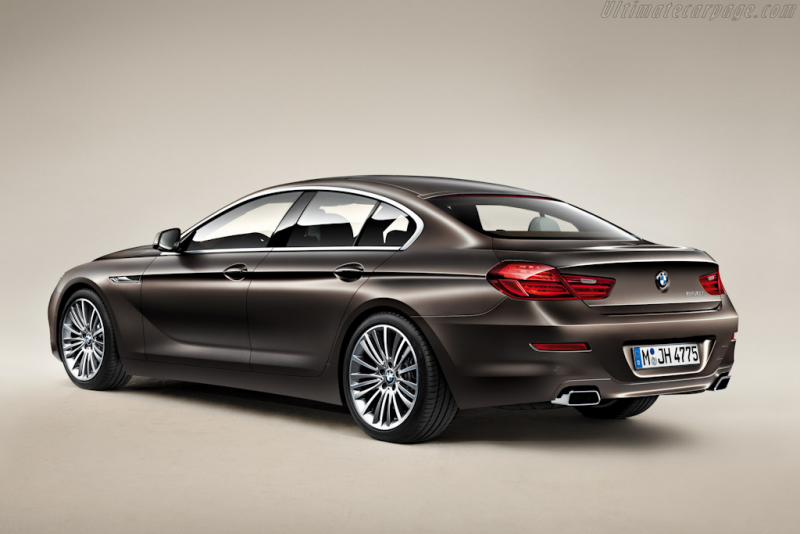 BMW 650i Gran Coupe High Resolution Image (4 of 12)