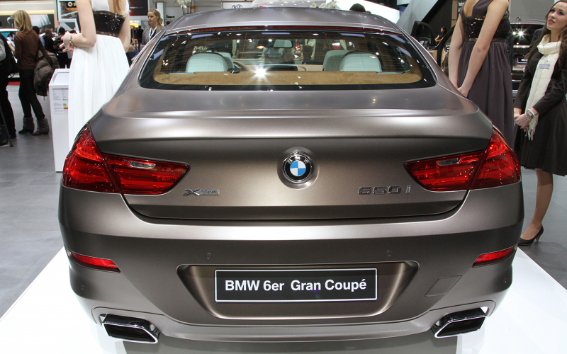 2013 BMW 6 Series Gran Coupe Photo Gallery