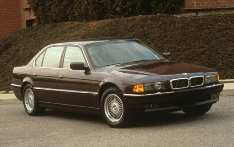 1996 BMW 7 Series 4 Dr 750iL Sedan