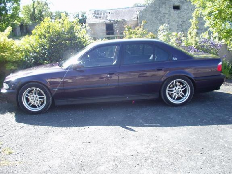 Another cockfawr 1996 BMW 7 Series post...