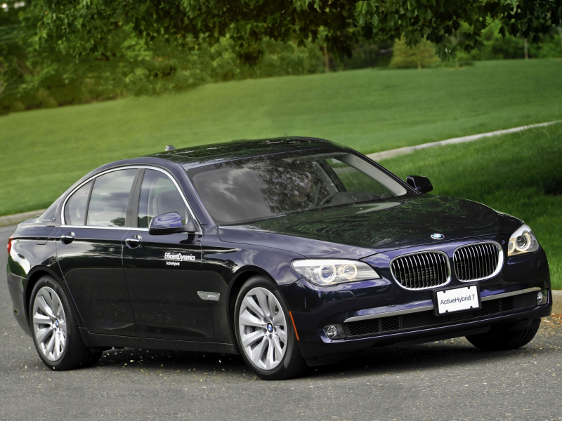 BMW ActiveHybrid 7 US-spec F04 Wallpapers