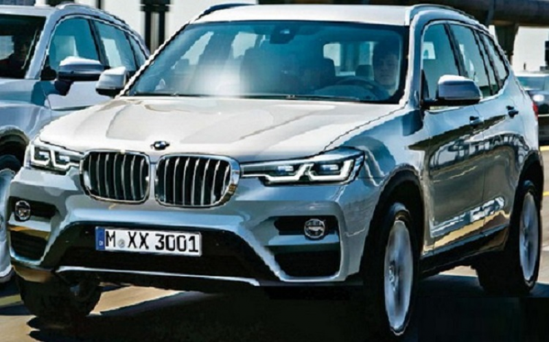 2016 BMW X3 exterior and interior redesign