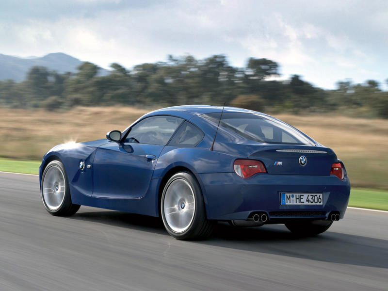 BMW Z4_M Coupe 2007