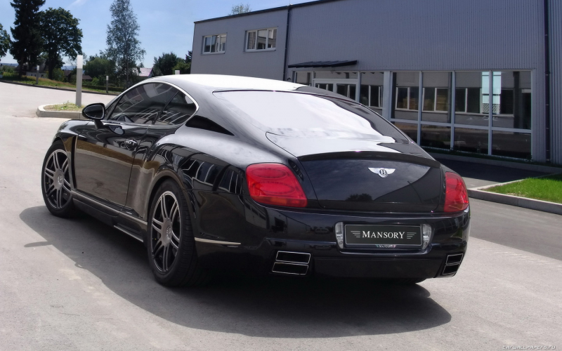 Car tuning wallpapers Mansory Bentley Continental GT - 2008