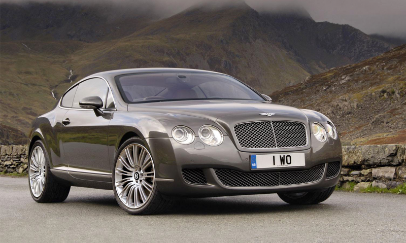 Title : 2008 Bentley Continental GT Speed