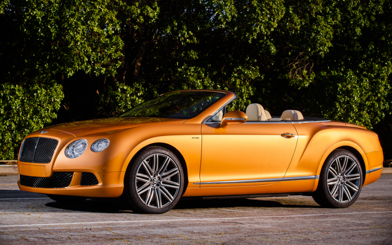 2013 Bentley Continental Gtc Front Three Quarters