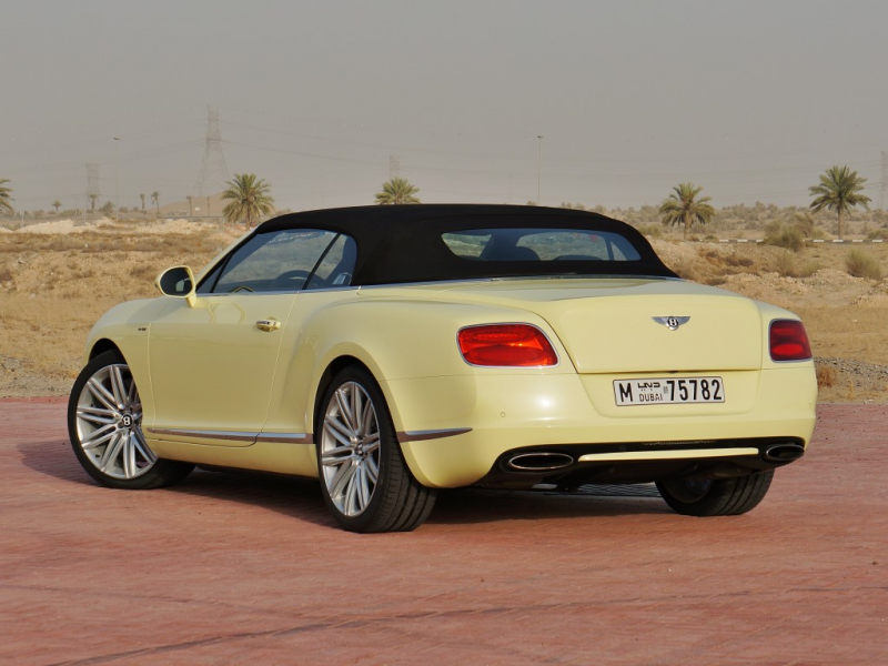 2013 Bentley Continental GTC Speed 4