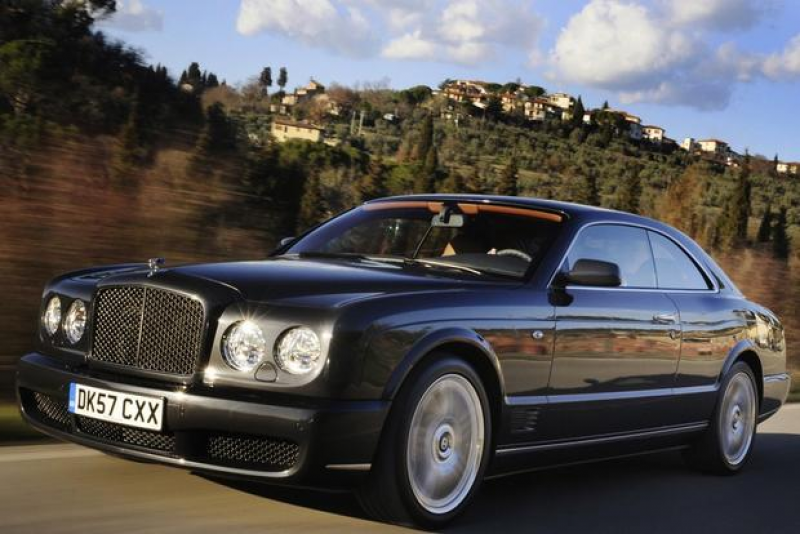 ... ride befitting a modern Bentley; Unlike anything else on the road