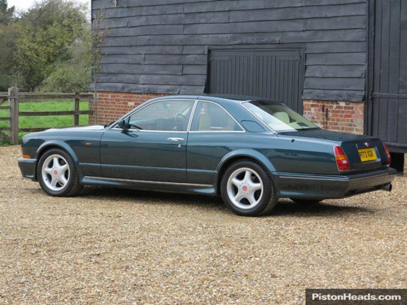 1997 Bentley Continental T (1997) For sale from The Hairpin Company ...