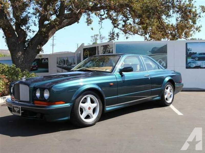 1997 Bentley CONTINENTAL T COUPE for sale in Thousand Oaks, California