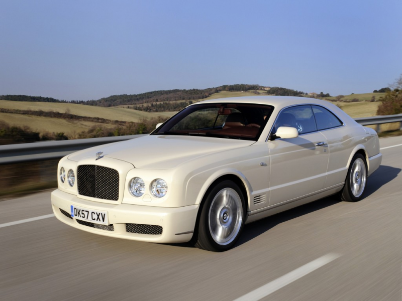 Bentley Brooklands – the world's most exclusive coupé