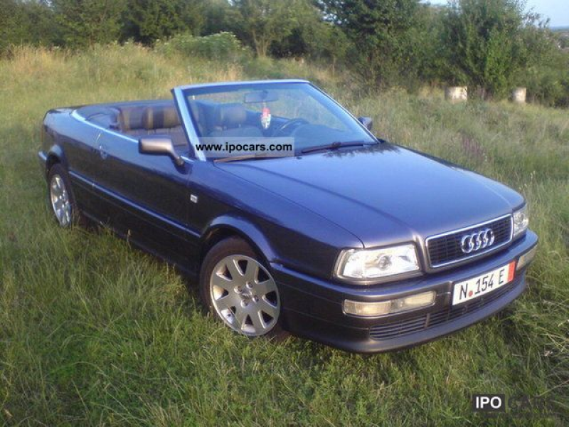 1998 Audi Cabriolet 2.6 (E) Cabrio / roadster Used vehicle photo 1