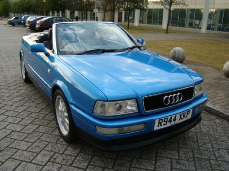 1998 audi cabriolet convertible