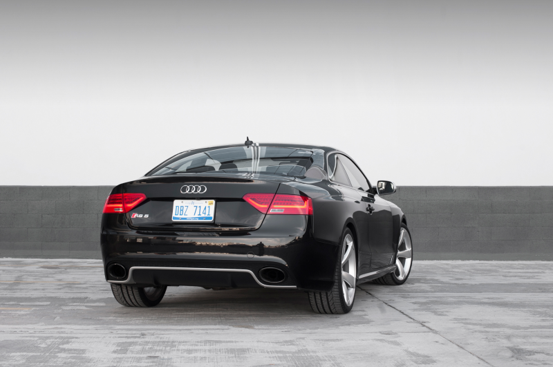 2014 Audi Rs 5 Rear Three Quarters