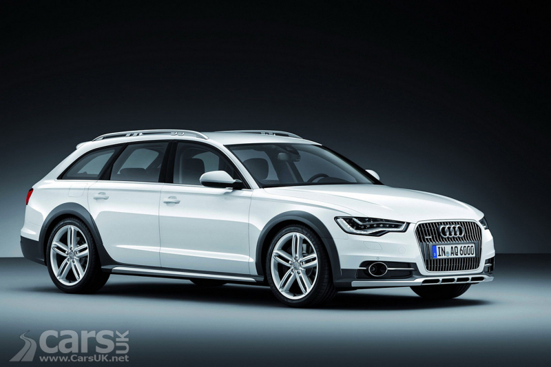 Audi A6 Allroad (2013) Photo Gallery